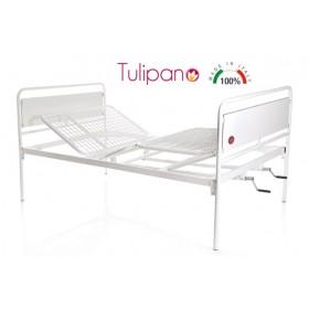 Letto ortopedico due manovelle fisso Tulipano - larghezza...