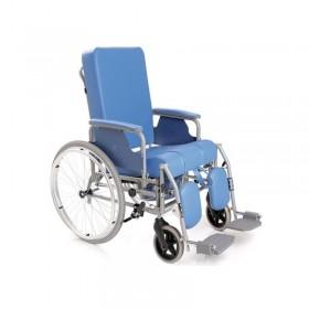 Sedia con autospinta con schienale reclinabile 4 ruote...