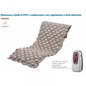 Materasso antidecubito a bolle d'aria con compressore per...