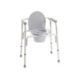 Sedia comoda 4 funzioni in 1: WC, supporto WC, sedia...