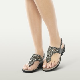 Sandalo Infradito Donna Marillie Scholl - color Metallo -...